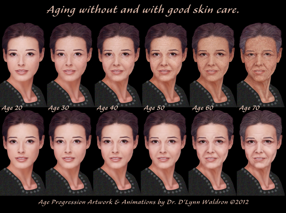AGE-PROGRESSED AND AGE-REGRESSED PORTRAITS by D'Lynn Waldron, PhD