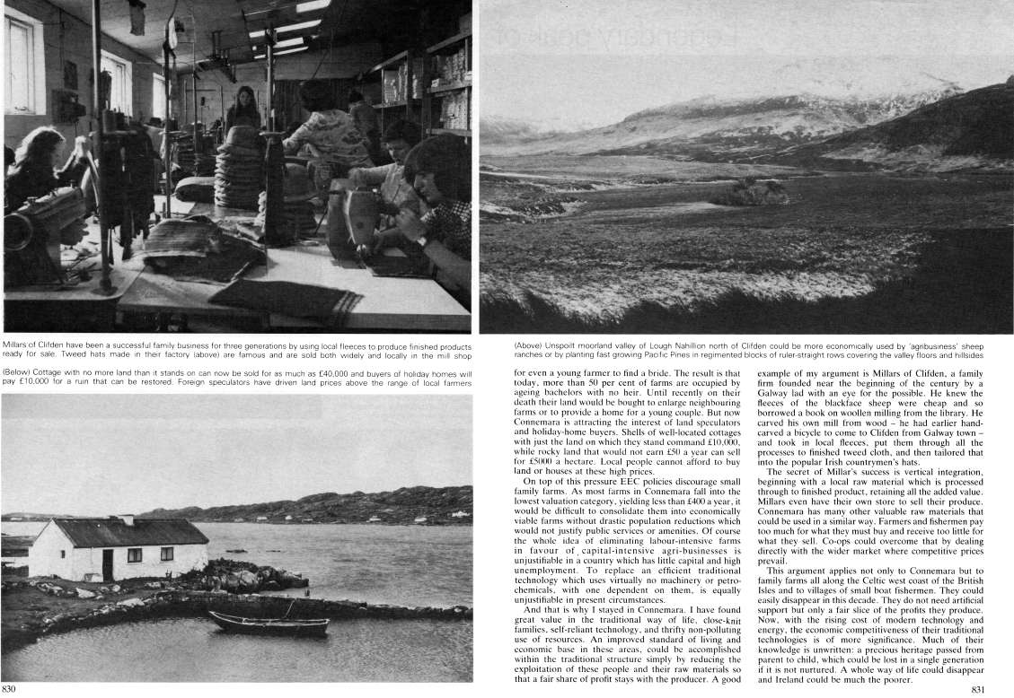 Geographical magazine article on Irish way of life by D'Lynn