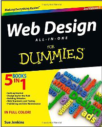 Books on creating successful web sites reviewed by d 39 lynn for For dummies template book cover